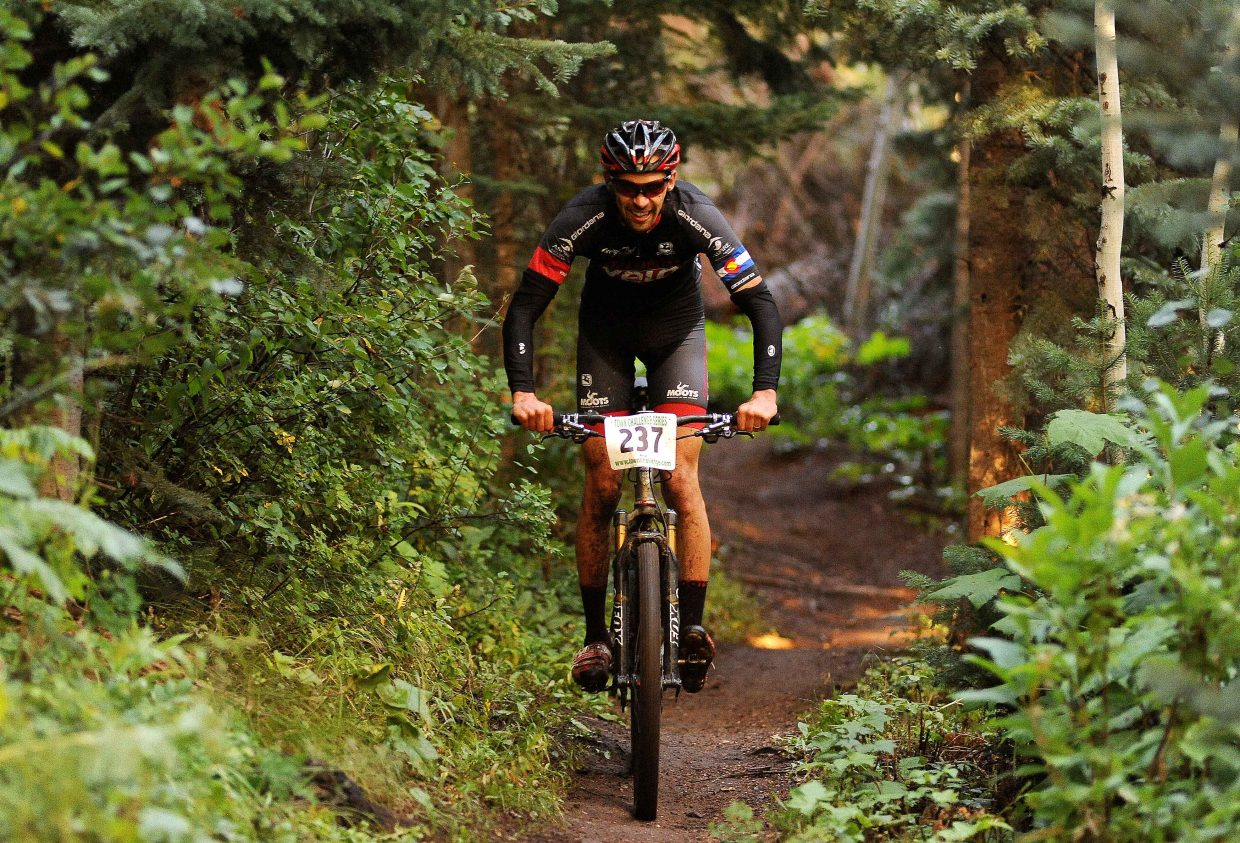 Wednesday's Town Challenge Mountain Bike Race Series finale drew a big crowd for a challenging race at Steamboat Ski Area.