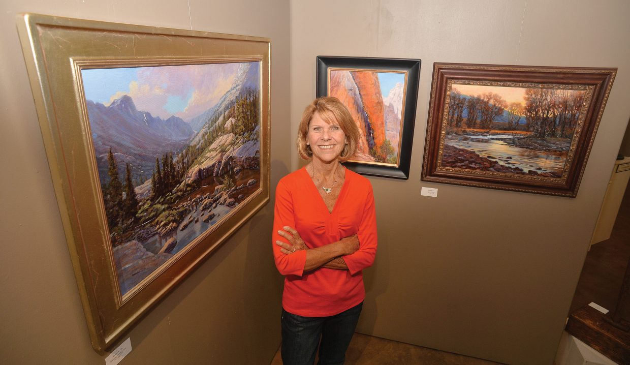 """Steamboat Springs artist Bonnie McGee has been getting a lot of attention for her work lately. McGee's painting """"Convergence"""" earned Best of Show at the Plein Air Artist of Colorado National Show at the Abend Gallery in Denver."""