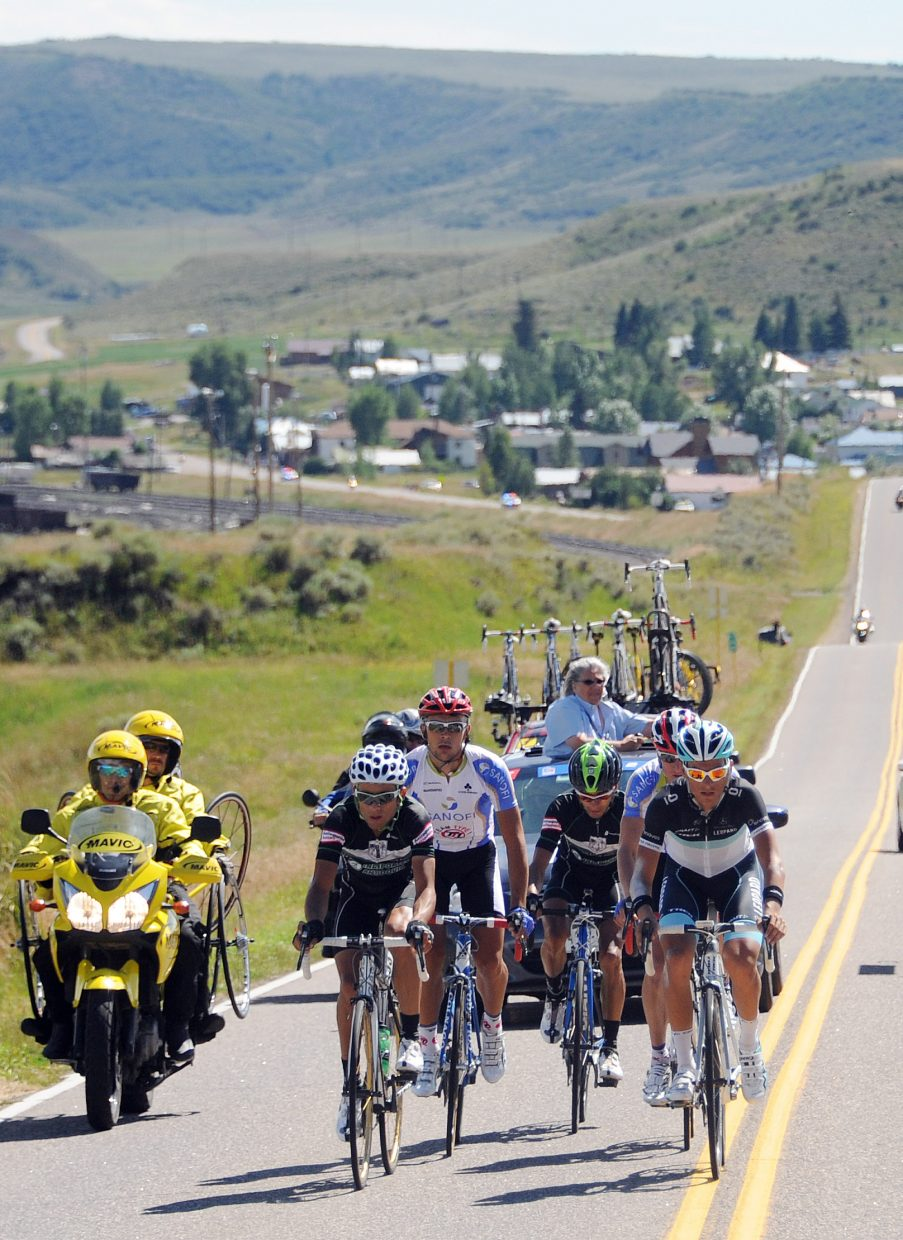 Different strategies can motivate the riders in a breakaway group. The group that broke free from the peloton heading toward Steamboat Springs in 2011 didn't come particularly close to making it to the finish line.