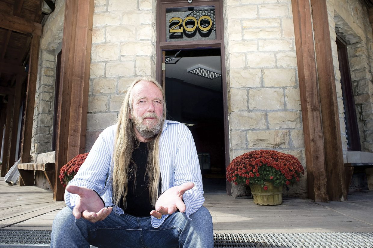 Jacob Wise, who owns Mary's Meds, a medical marijuana center in Oak Creek, is pictured in 2010 in front of the dispensary at 200 S. Sharp Ave.