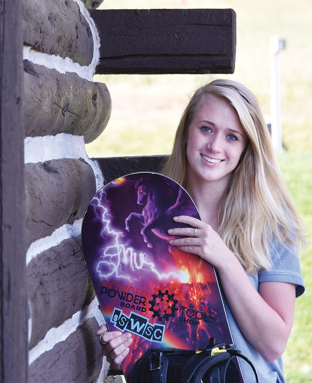Savanna Atkins is headed to Windells Academy, a private snowboarding school located at the base of Mount Hood in Oregon.