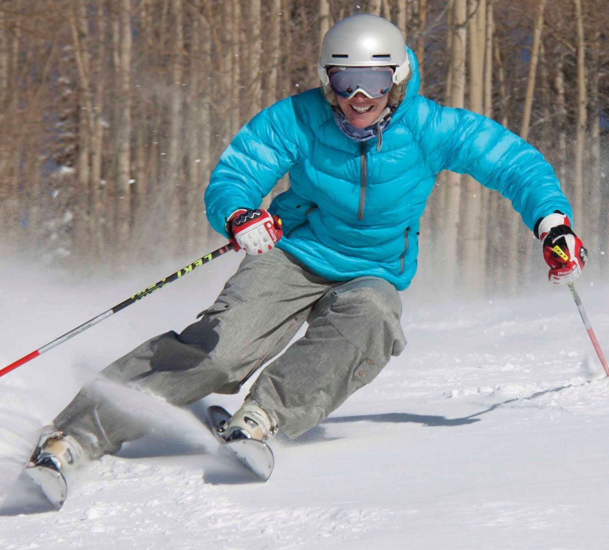 Caroline Lalive left Steamboat Springs after being named to the U.S. Ski Team in 1996. But when her career with the national team ended she returned to the valley and enjoys many of the things that make the town great — including skiing at the Steamboat Ski Area.