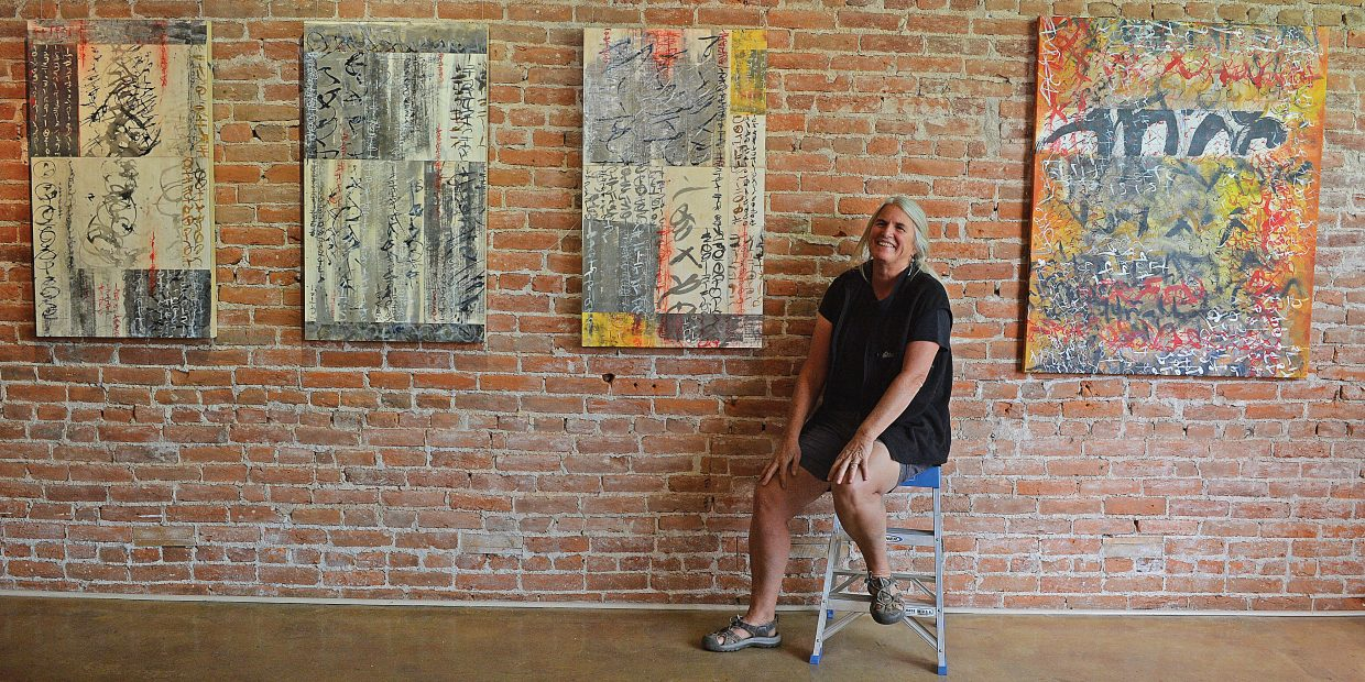 Artist Laura Wait will be featured this month at the Circle 7 Fine Art gallery in Steamboat Springs.