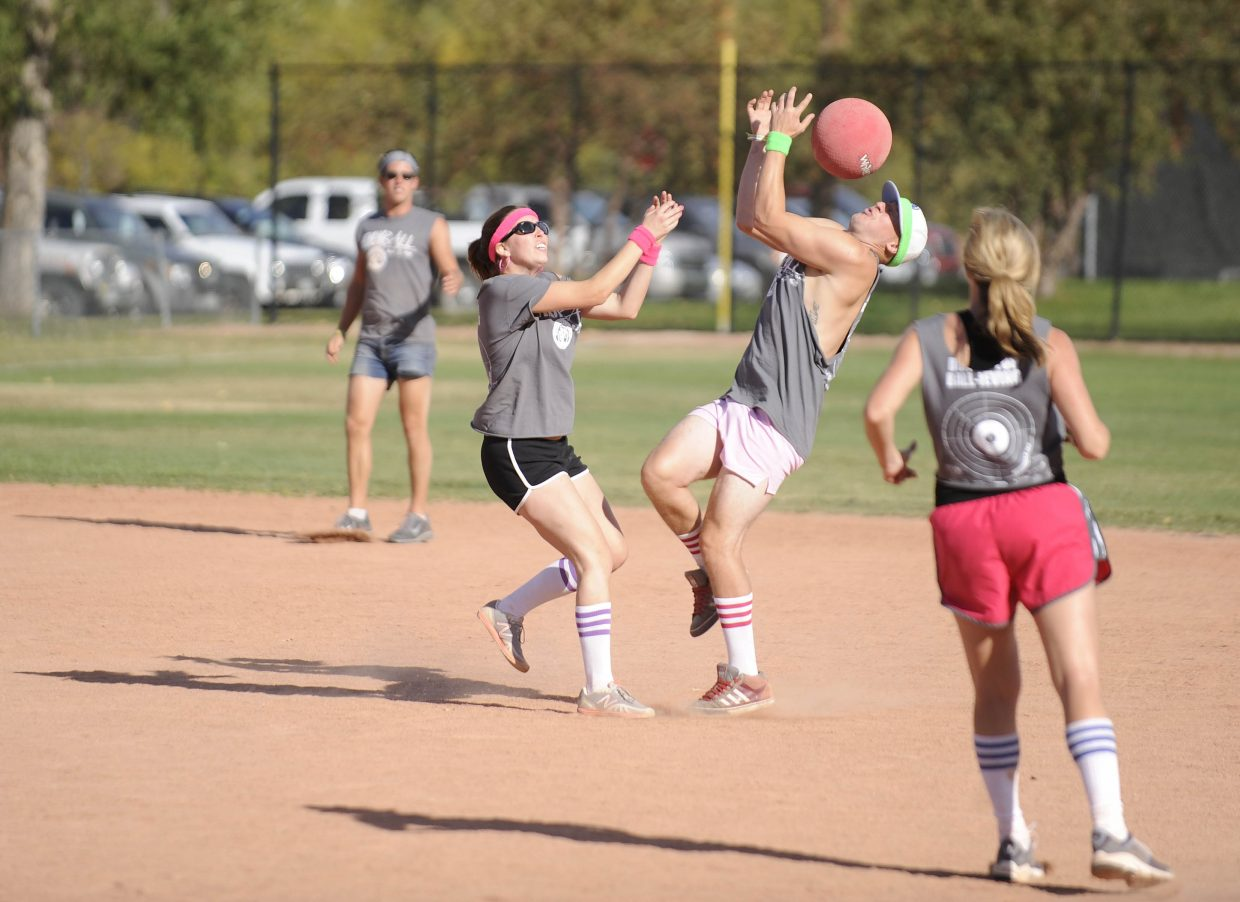 The two-day Kickball Klassic tournament starts Friday at Howelsen Hill.