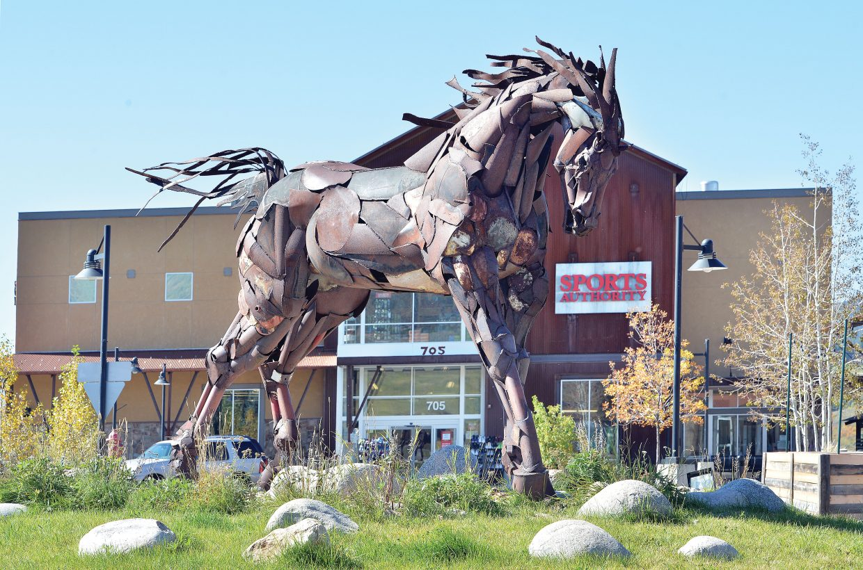 Wildhorse Marketplace, near the base of Steamboat Ski Area, has been sold for $17 million a Steamboat Springs family's company.
