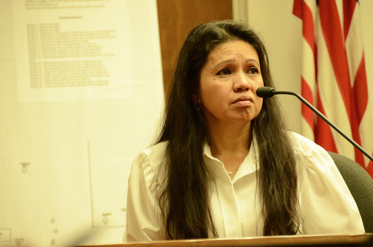 Mary Rose Fief takes the stand Monday morning at her husband Leroy Fief's murder trial. Leroy Fief is on trial for first-degree murder for the alleged stabbing death of Shane Arredondo.