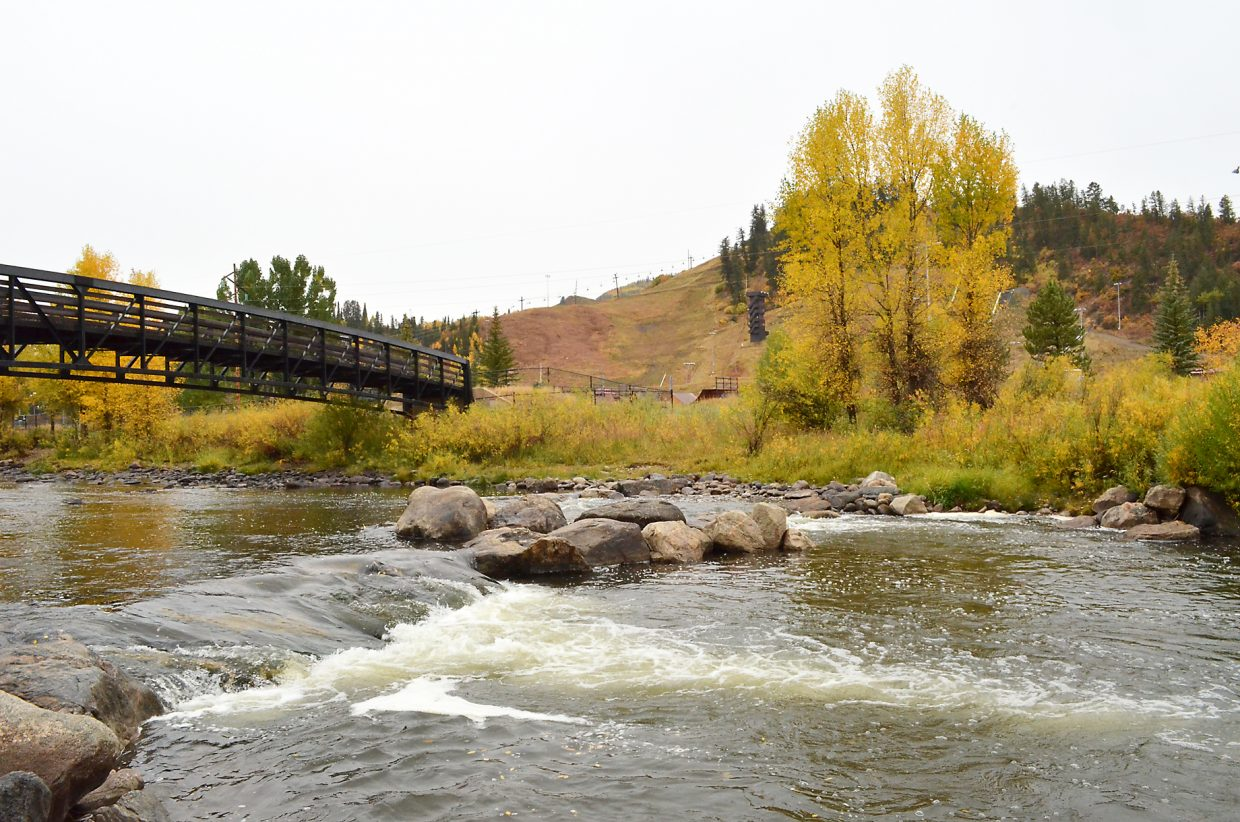 The steady rain that fell Sept. 23 elevated flows in the Yampa River in Steamboat Springs, and a new water purchase from Stagecoach Reservoir by the Colorado Water Trust will help keep the Yampa healthy into October.
