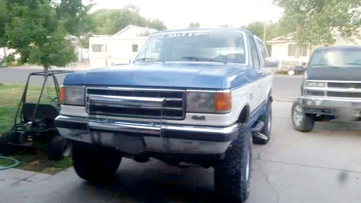 Scott Burke, of Craig, was supposedly driving his Ford Bronco when he went missing Saturday.