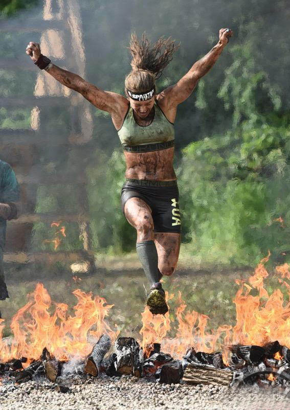 Steamboat Springs athlete Heather Gollnick finishes a Reebok Spartan Race in Breckenridge earlier this year. Gollnick will be at the Squaw Valley Resort in Lake Tahoe this weekend competing at the Spartan World Championships.