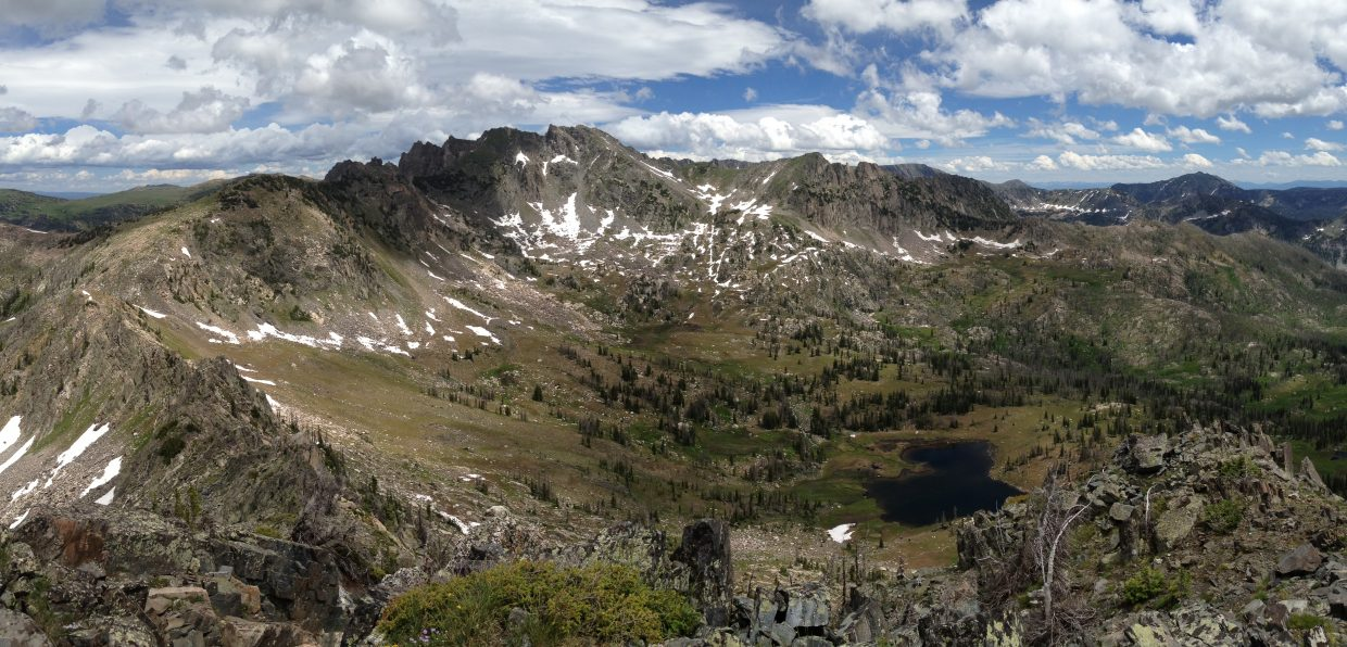 Mica Lake from Little Agnes