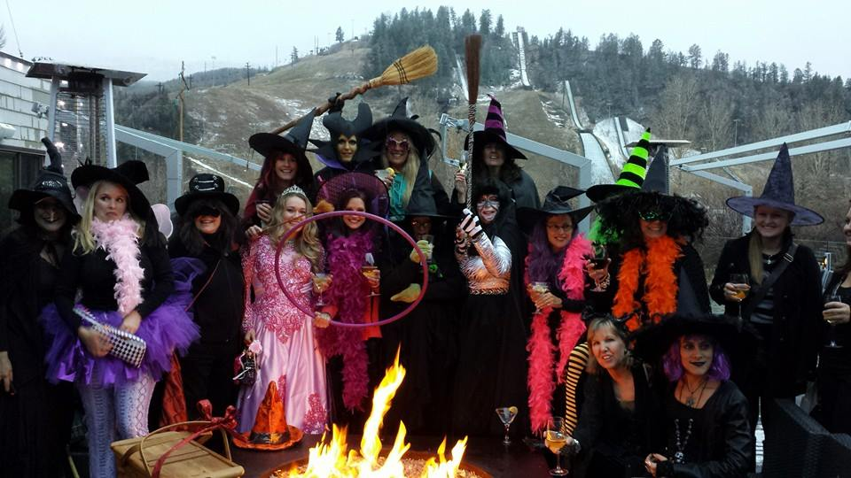 Annual witches night out, Oct. 30, at the Cauldron! Submitted by: Sue Hansen