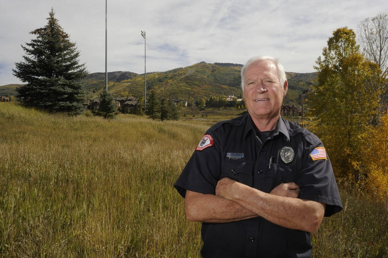 After working as a wildlife officer for 33 years, Mike Middleton has retired and now is working full time as a firefighter in Steamboat.