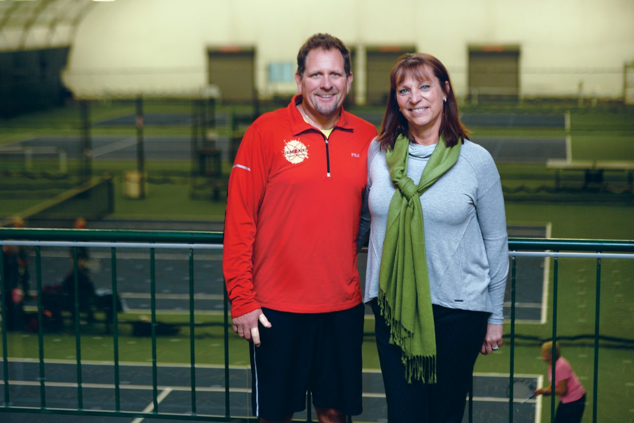 Bill and Loretta Conway stepped into a new role Saturday when they took over as operators of the Tennis Center at Steamboat Springs. The Conways have been at the Tennis Center for the past four years and assumed leadership from Jim and Stacey Swiggart, who announced earlier this year that they will be leaving.