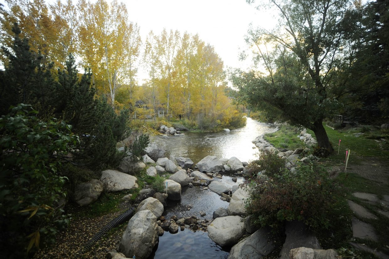 Work starts Wednesday on a river restoration project at Dr. Rich Weiss Park on the edge of downtown Steamboat Springs.