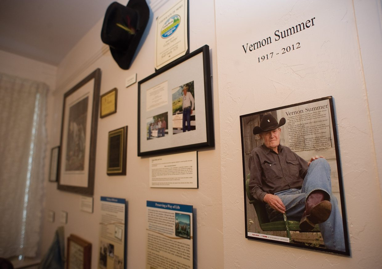 The Summer Family exhibit opened at the Tread of Pioneers Museum Thursday evening.