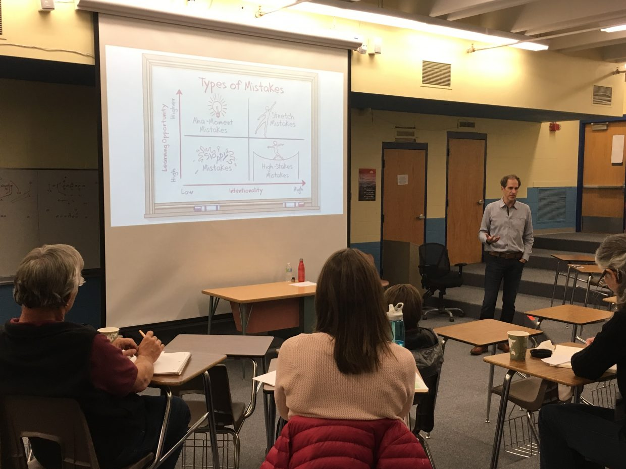 Educators from around the region gathered last Friday at Steamboat Springs High School for the fifth annual COLLAB conference, organized by Northwest Colorado Board of Cooperative Educational Services.