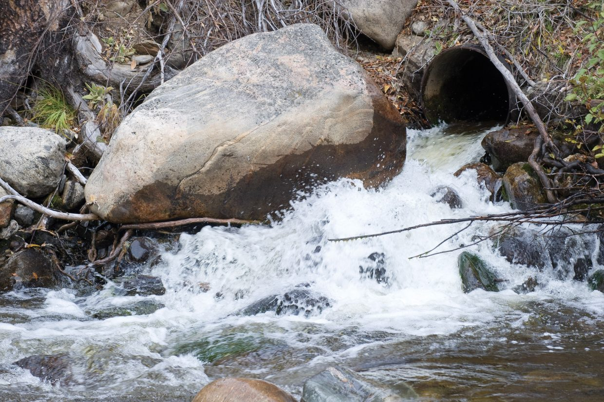 Steamboat's stormwater task force will not recommend that the city adopt a new fee to pay for stormwater system upgrades. The task force's report will be presented Tuesday night to the Steamboat Springs City Council.