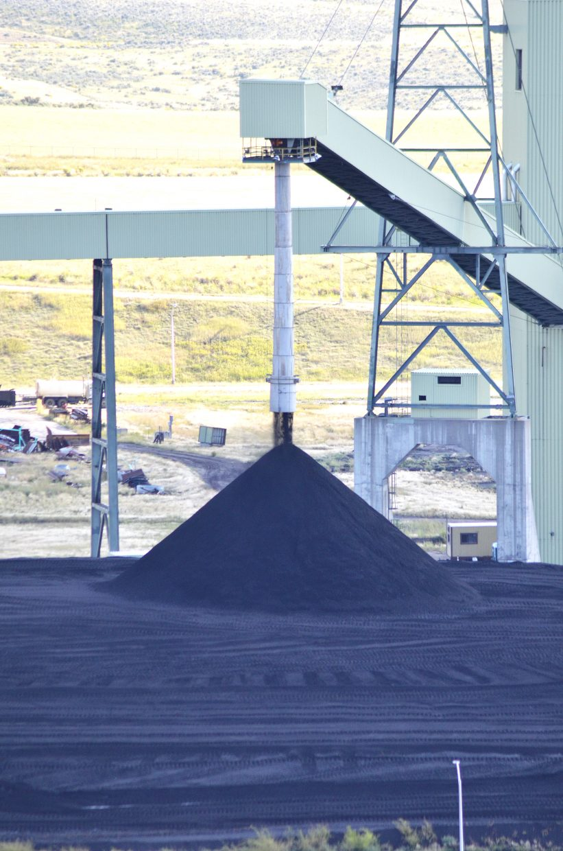 Craig Station, the largest coal-burning power plant in Colorado, receives it's coal from Colowyo and Trapper coal mines.