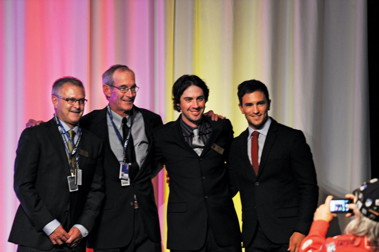 The Colorado Ski and Snowboard Hall of Fame's Class of 2014 included Mike Brown, CJ Mueller, Steamboat's Johnny Spillane and Jeremy Bloom. Kingsbury Pitcher also was inducted into the hall but was unable to make it to the stage for photographs. The ceremony took place Friday evening at the Omni Interlocken Resort in Broomfield.