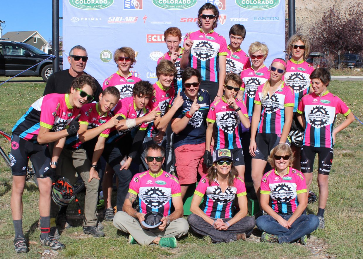 The Steamboat Springs High School mountain biking team placed fifth in its division Sunday at the state championships in Eagle.