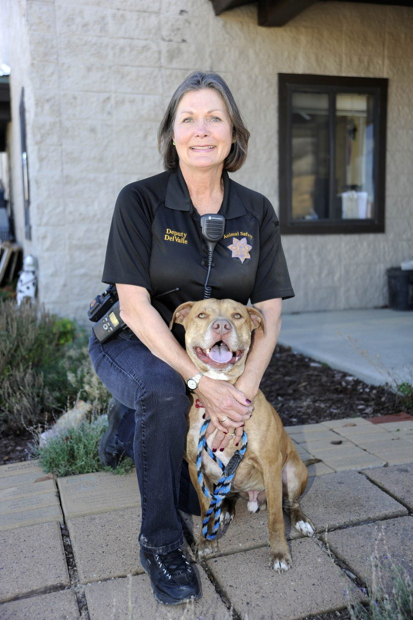 Routt County Sheriff's Office animal control officer Cindy DelValle is retiring after a 28-year career.