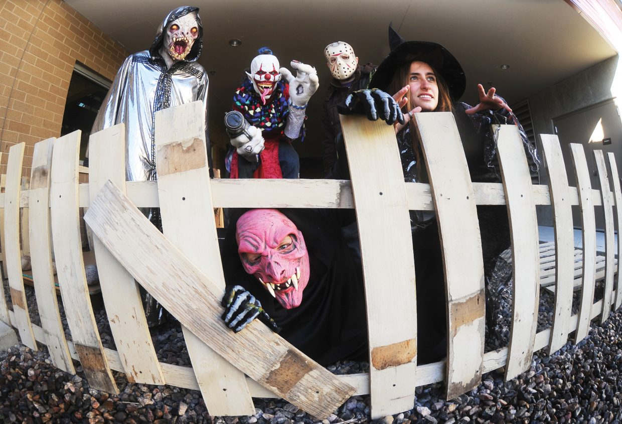 A scary cast of characters will be on hand for this year's Screamboat Chamber of Horror at Colorado Mountain College this Halloween season. The haunted house will open from 6 to 10 p.m. Friday and Saturday nights and Oct. 30 and 31.