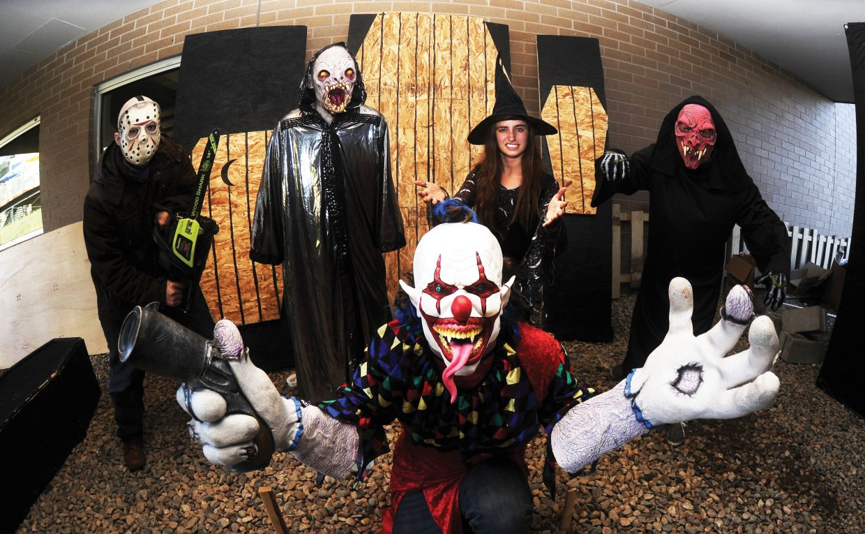 A scary cast of characters will be on hand for this year's Screamboat Chamber of Horror at Colorado Mountain College this Halloween season. The haunted house will open from 6 to 10 p.m. Friday and Saturday and Oct. 30 and 31. The haunted house is a fundraiser for the college's Sky Club.