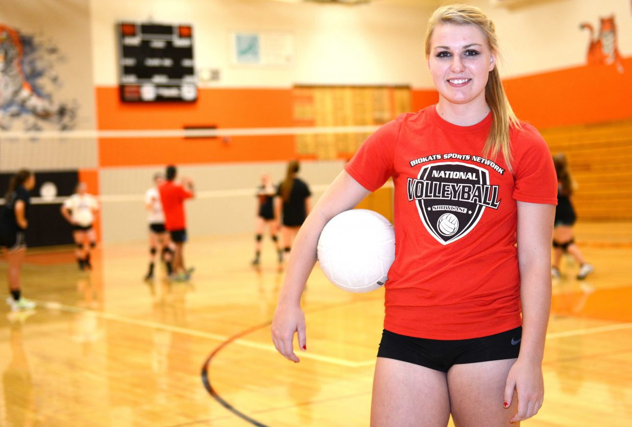 Hayden senior Jordan Temple has dedicated more than half of her life to volleyball and has reigned as one of the best players in Routt County in her four years in high school. As she prepares for what could be her match Friday, she's ready for something different.