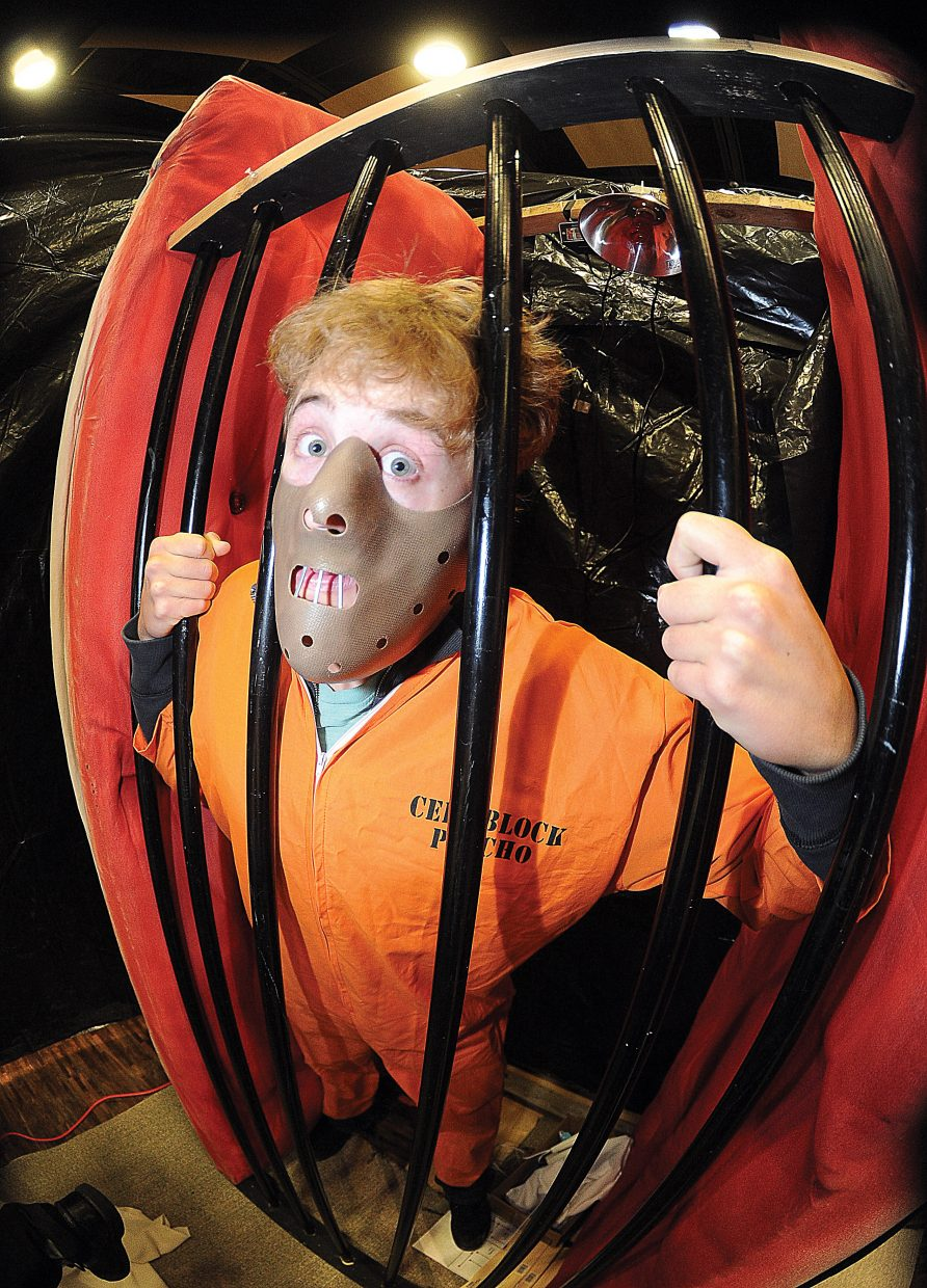 Ryan Hogrefe is looking to scare a few people during this year's Screamboat chamber of horror. The haunted house, a fundraiser for Colorado Mountain College's Sky Club, will open at 6 p.m. Friday inside the campus's auditorium.
