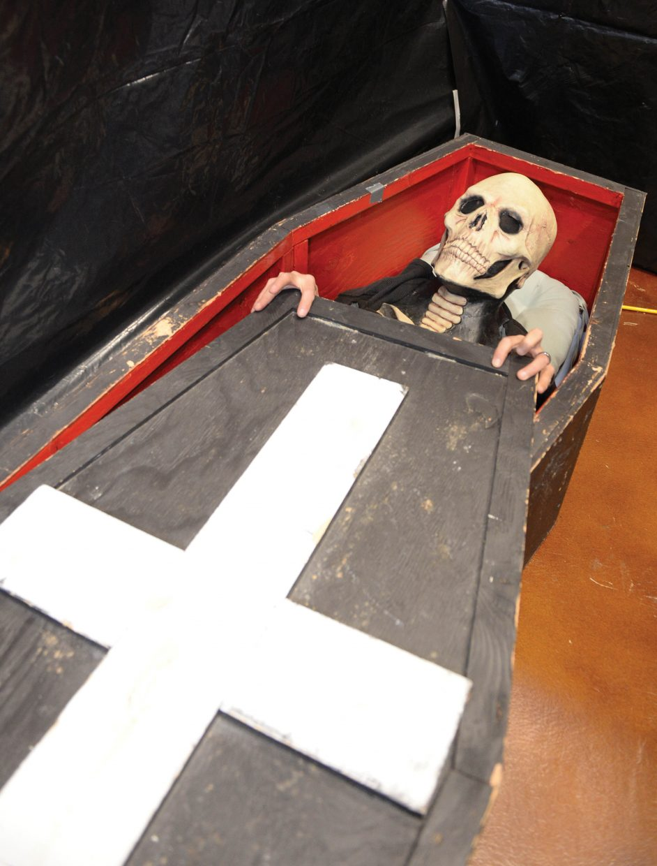 There will be plenty of fright and sights at this year's 18th annual Screamboat Haunted Tour, which will be open from 6 to 10 p.m. Friday, Saturday and Monday at Colorado Mountain College in Steamboat Springs.