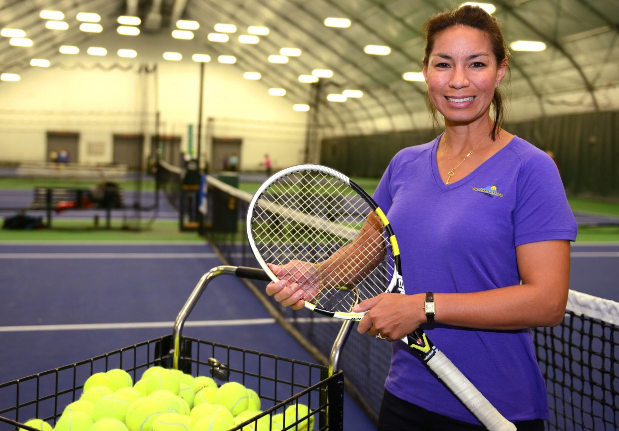 Lilia (Osterloh) Snape is coming on as a pro at the Tennis Center at Steamboat Springs after a long, accomplished career playing at the very top of the top of the sport.