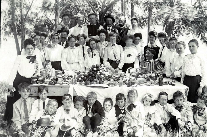 """Looking back, this image from the Tread of Pioneers Museum shows the men and women of Routt County testing out recipes. On Friday, Jan. 29 at noon, the Tread of Pioneers Museum will launch the first program in a new three-part food series titled """"A Taste of History."""" The program features historic recipes, cooking methods and food tastings, to offer the flavor of the local heritage."""