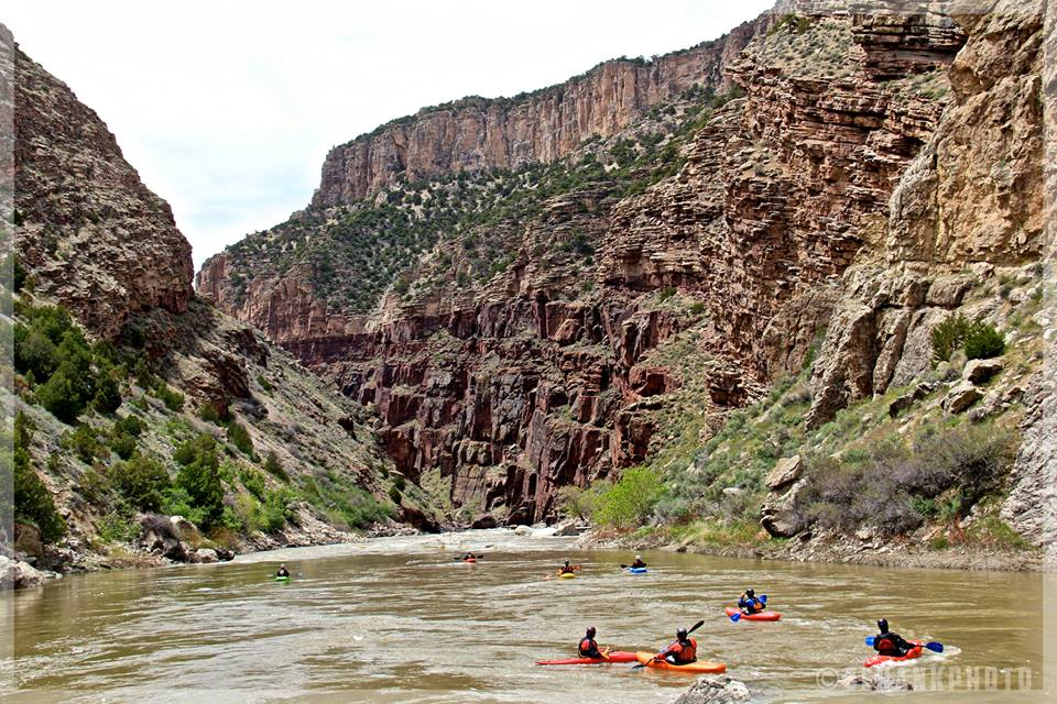Venture west past Maybell to a five-mile canyon with the Yampa River flowing through, and you will find the Cross Mountain Canyon. One of Eric Schankerman's favorite places to escape for hiking and camping.