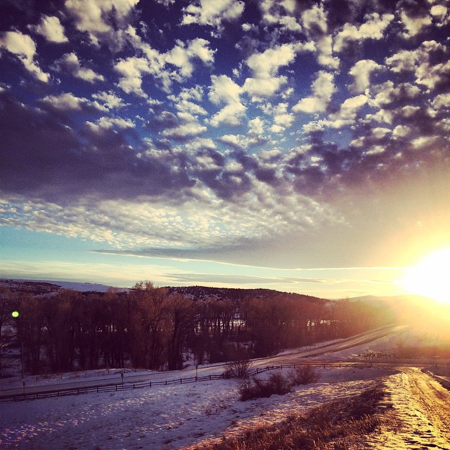 From Saturday out on Routt County Road 44. Submitted by: Dylan Roberts