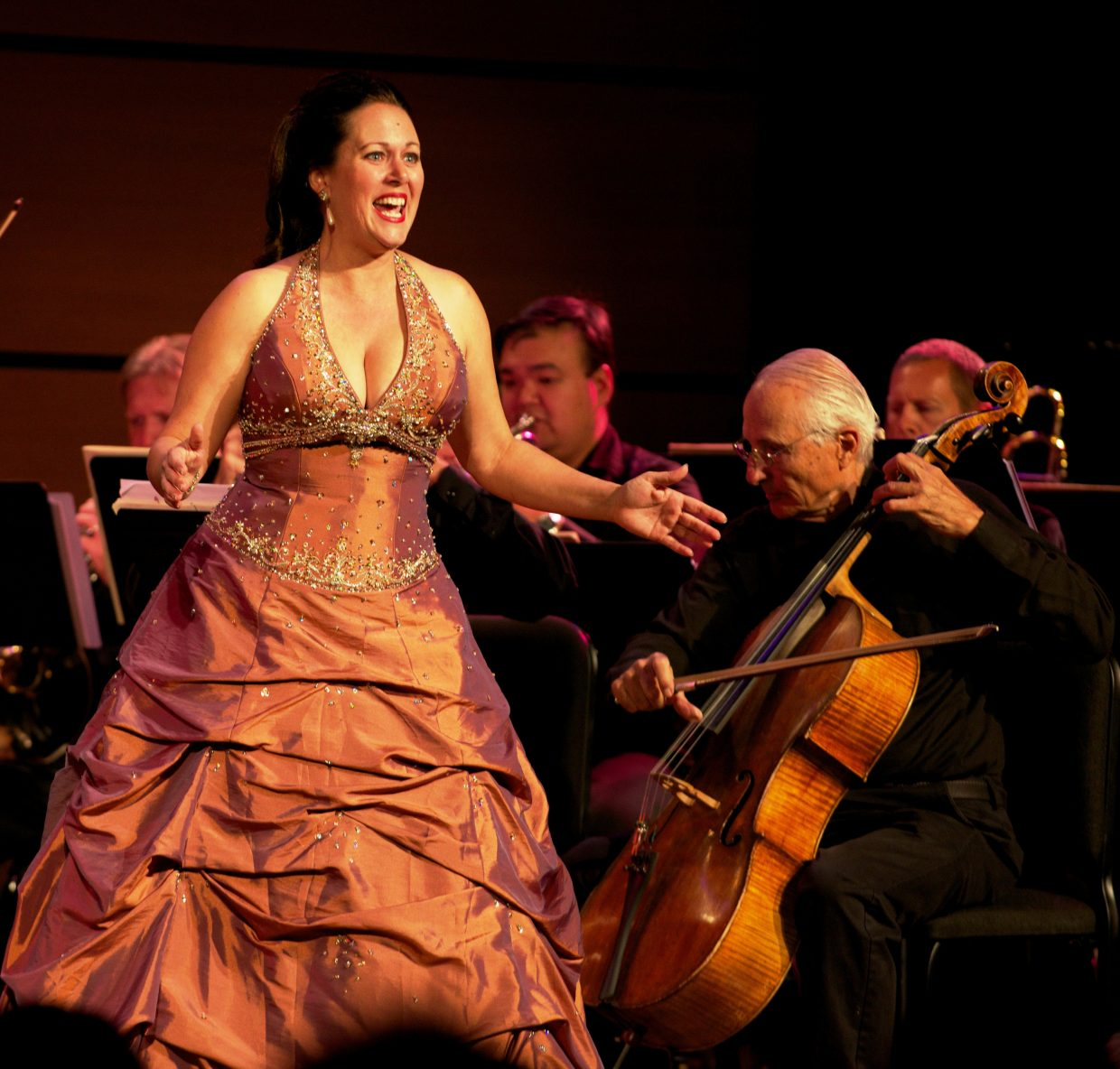 Keri Rusthoi performs during the Emerald City Opera's 10th anniversary production.