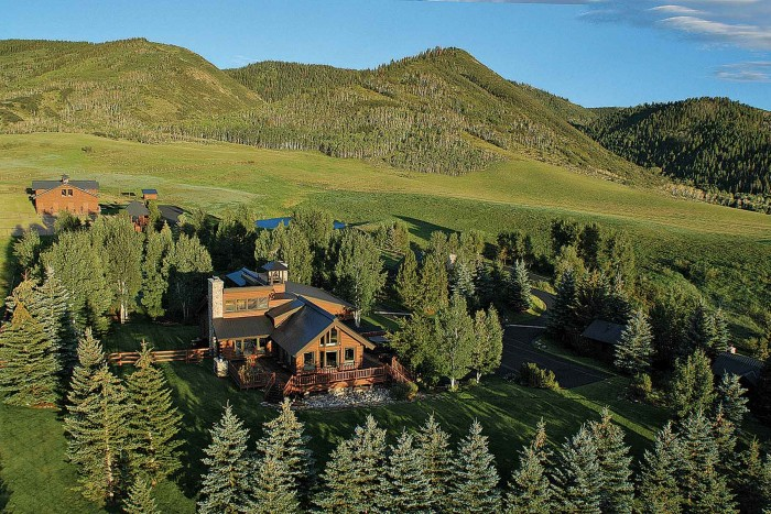 The 1,100-acre Round Mountain Ranch was sold Oct. 9 for $11 million. The ranch features several residences, including the Bell Tower House, designated as the owner's home.