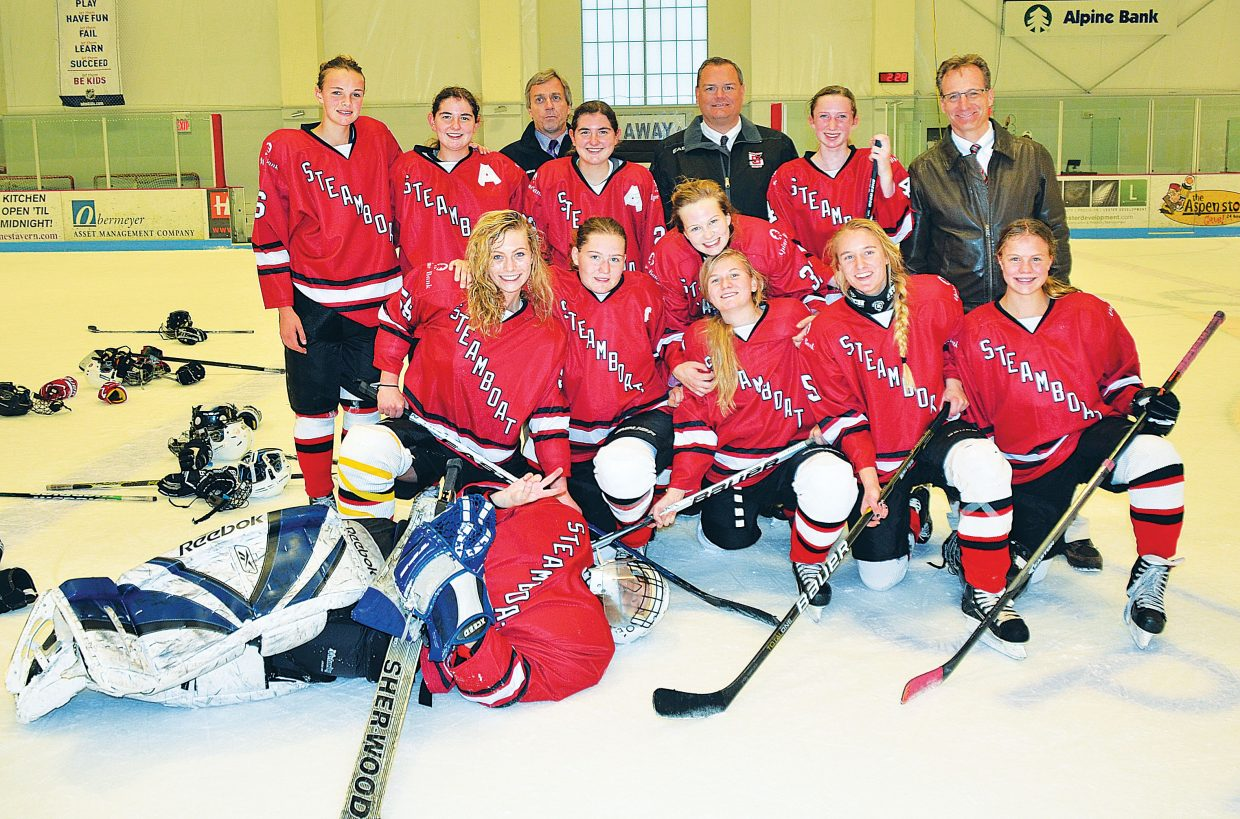The U19 girls hockey team from Steamboat Springs placed second in the 21st annual Aspen Fall Face Off last weekend in a five team division. The Steamboat girls went 3-1 in pool play, beating the Rough Riders from Denver, 4-3; the Aspen U-14AA team, 2-1; and Colorado Select, 5-1, to advance to the finals. In the finals, Steamboat lost to the Aspen U19 team for a second time, 5-0. It was the first tournament of the season for the Steamboat team, which is made up of younger U16 players. The team will open league play this weekend in Denver and is looking forward to hosting the Adele Dombrowski Tournament from Dec. 12 to 14 at the Howelsen Ice Arena in Steamboat. Steamboat's U12 and U14 girls team also played in last weekend's tournament in Aspen but did not advance out of pool play.