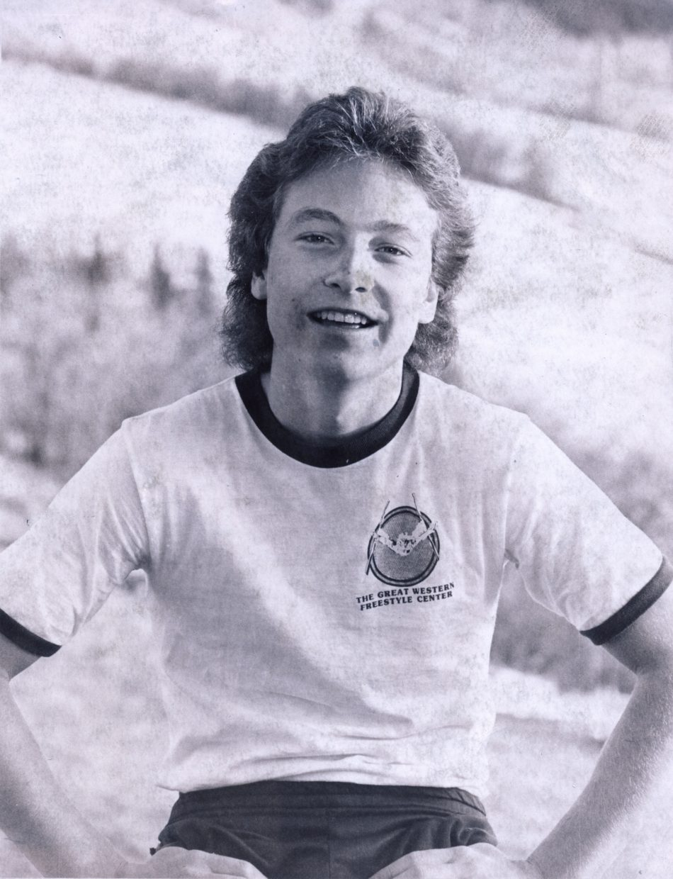 Kris Feddersen poses for a photo in 1980.