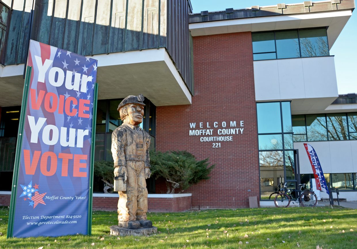 Voters were streaming through Moffat County Courthouse on Election Day 2016 to cast their ballots. Moffat County Clerk and Recorder reported an 86 percent turnout for all active registered voters in the county. Continue checking CraigDailyPress.com for more updates on all local, state and national races.