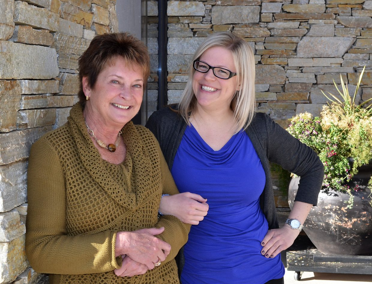 Strings Music Festival Executive Director Kay Clagett, left, will take her final bow and retire at the end of the 2015 season to be succeeded by Elissa Greene, current director of artistic administration, education and technology Elissa Greene.
