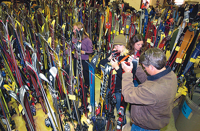 The Steamboat Springs Winter Sports Club's annual Ski Swap has moved from the Steamboat Springs Middle School to the Howelsen Hill Lodge. The event will begin at 8 a.m. with early bird entry and will continue to 2 p.m.