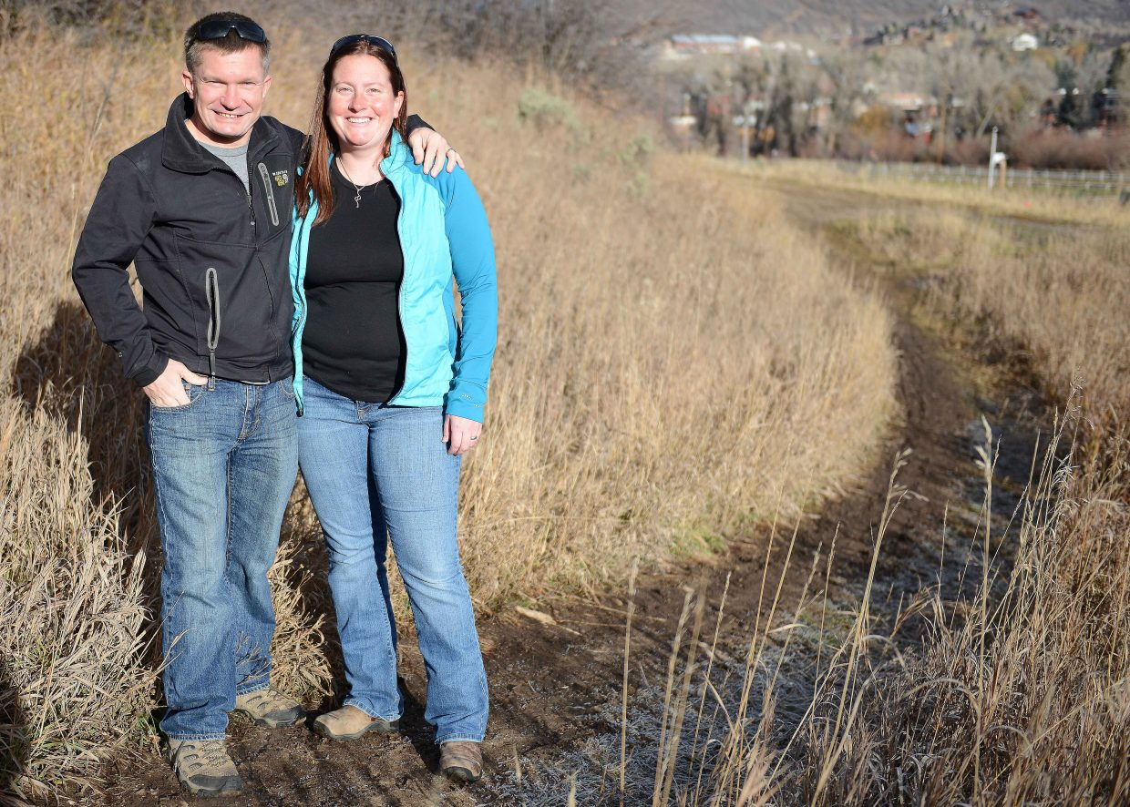 Joshua and Susan Boles are hoping they'll find an eager market with their new running specialty shop in Steamboat Springs, Twisted Trails Running Company. They hope to open for business later this month.