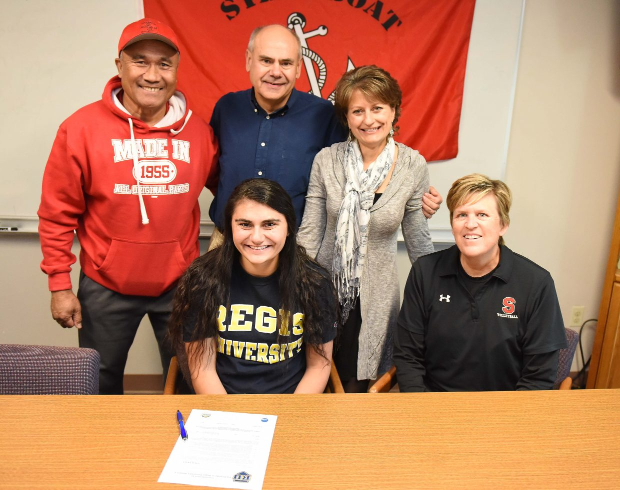 Steamboat Springs High School senior Maddie Labor signed a letter of intent to play for Regis University in Denver next year. Labor was a libero and a leader on this season's league championship volleyball team.