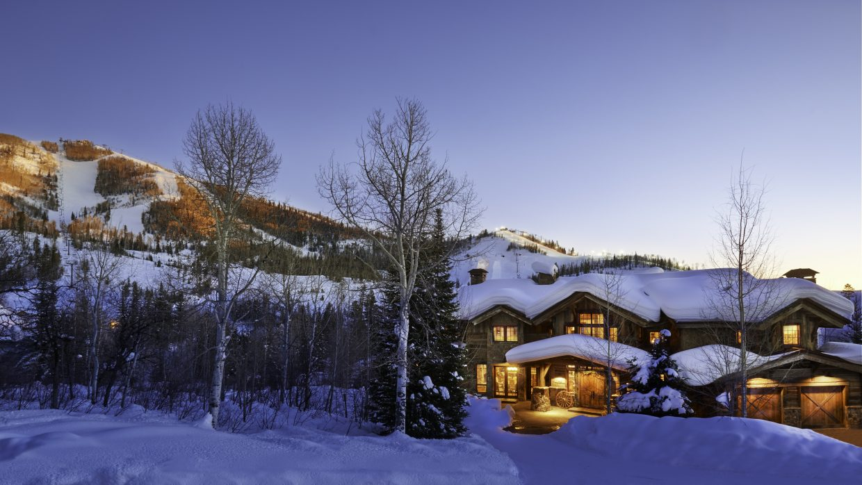 This home on Temple Knolls, off of Burgess Creek Road and near the base of the Steamboat Ski Area's Thunderhead lift, sold earlier this month for $4.9 million.
