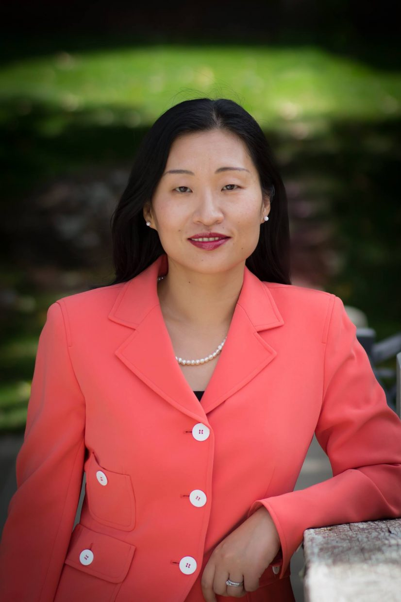 Helen Raleigh, who is originally from China, will speak Tuesday at Colorado Mountain College about her thoughts on immigration reform.