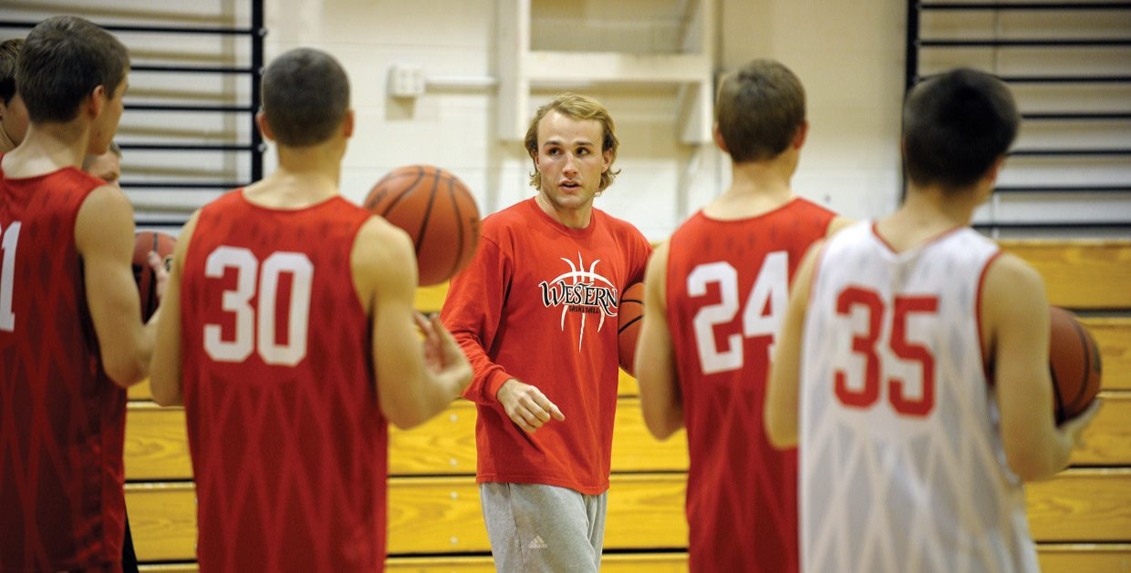 Mike Vandahl is back on the Steamboat Springs High School campus, this time as an assistant coach. Vandahl said he is comfortable in his transition from player to coach, after playing 5 years of college basketball.