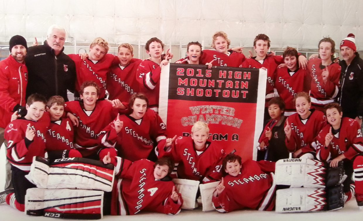 Steamboat's Bantam A team won a tournament in Park City earlier this month. The squad emerged as the champions thanks a goal in a round of penalty shots.