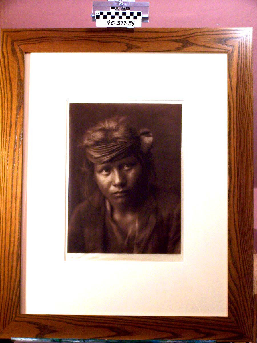 """""""Son of the Desert,"""" by Edward S. Curtis"""