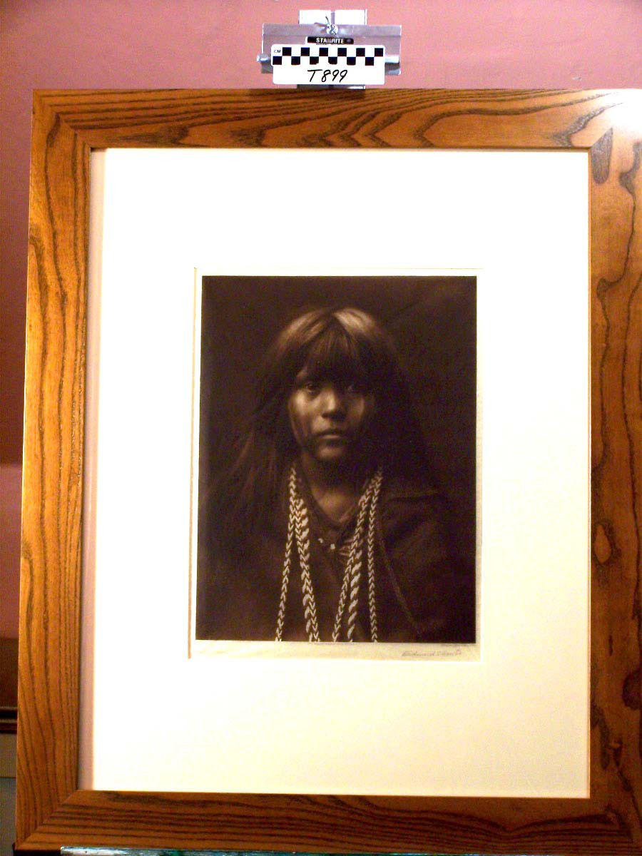 """""""Mosa,"""" by Edward S. Curtis."""
