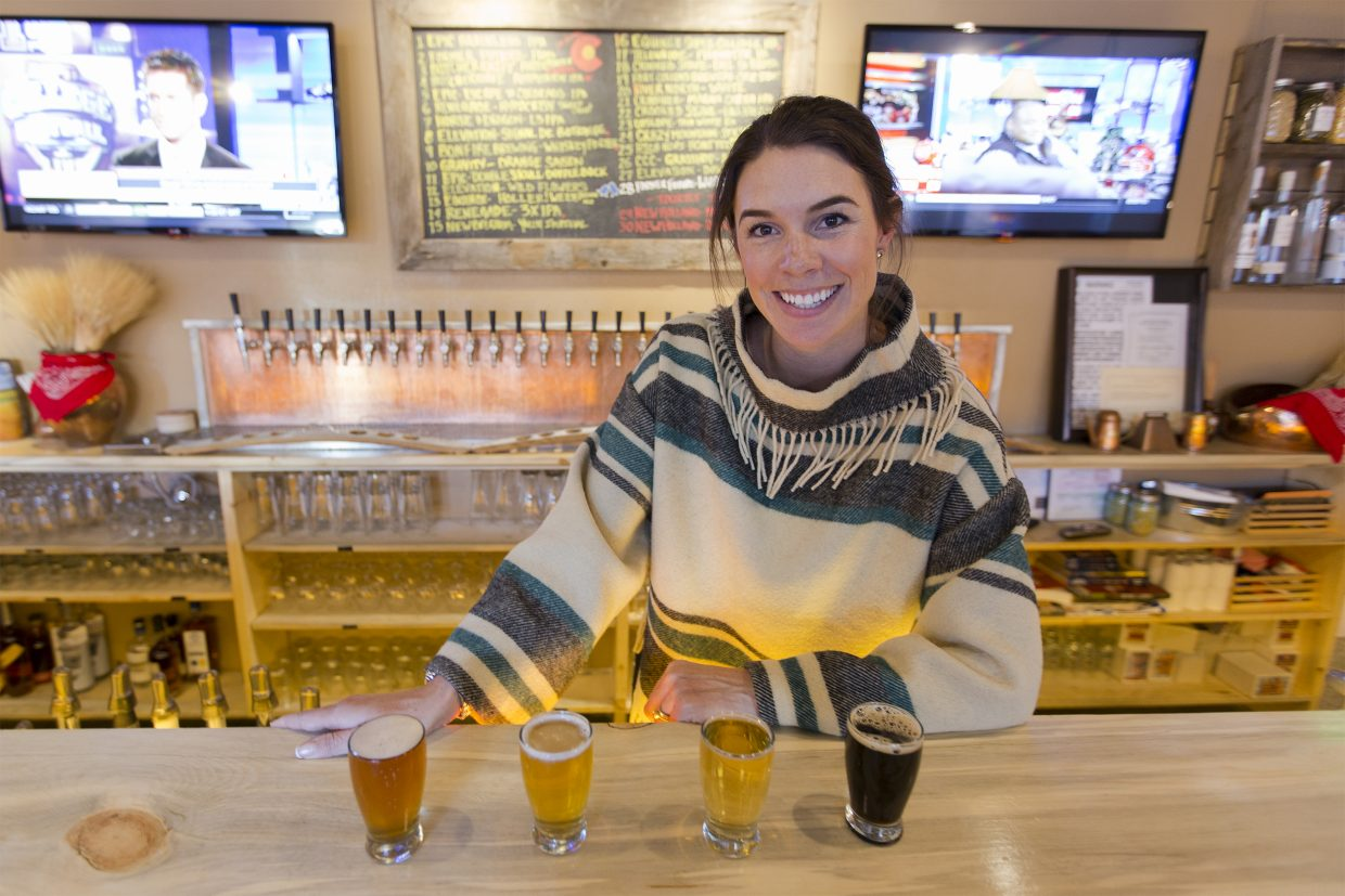 Megan Grey Stromberg, owner of the BARley in downtown Steamboat Springs, gives some suggestions on what brews to check out at her bar.